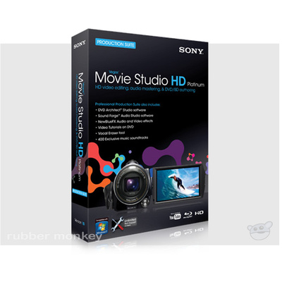 Sony Vegas Movie Studio HD Platinum 10 Production Suite Site 25-49 seats