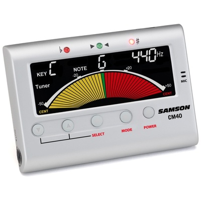 Samson CM40 Chromatic Tuner Metrone