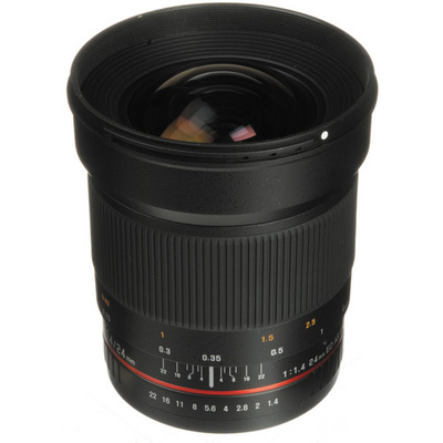 Samyang 24mm f/1.4 ED AS UMC Wide-Angle Lens (Canon)