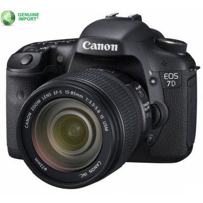 Canon EOS 7D Digital SLR and 15-85mm IS Lens Kit
