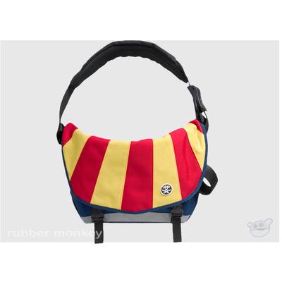 Crumpler The Barney Rustle Blanket - Navy Yellow and Dark Red