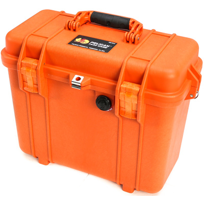 Pelican 1434 Top Loader Case with Photo Dividers (Orange)