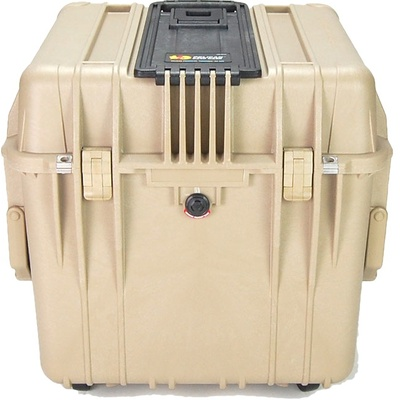 Pelican 0340 Cube Case without Foam (Desert Tan)