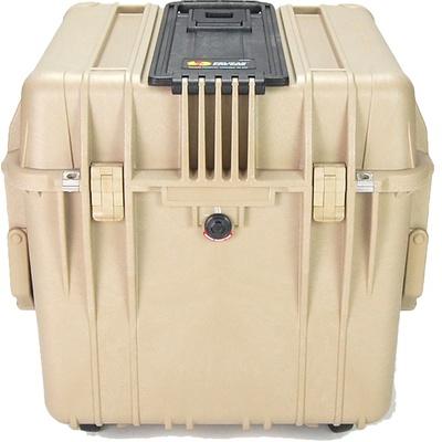 Pelican 0340 Cube Case (Desert Tan)