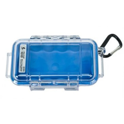Pelican 1015 Micro Case (Blue/Clear)