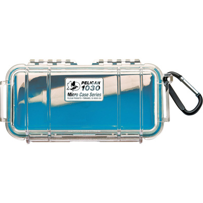 Pelican 1030 Micro Case (Blue/Clear)