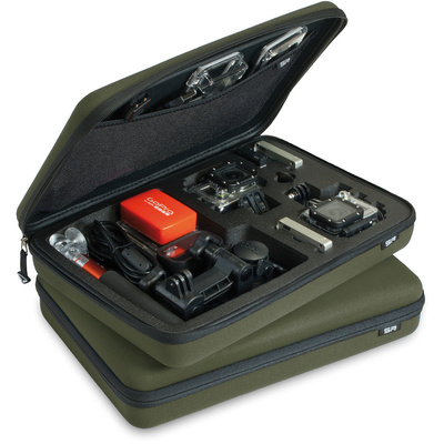 SP POV Case Large - GoPro Edition Olive