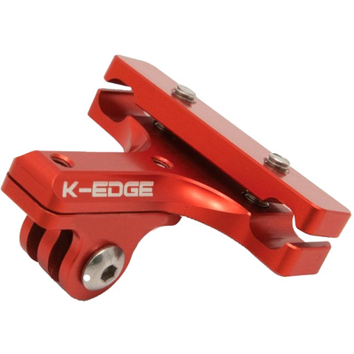 K-Edge Go Big GoPro Pro Saddle Rail Mount (Red)