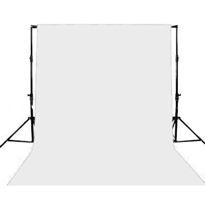 Ex-Pro White Screen Backdrop 6m x 3m
