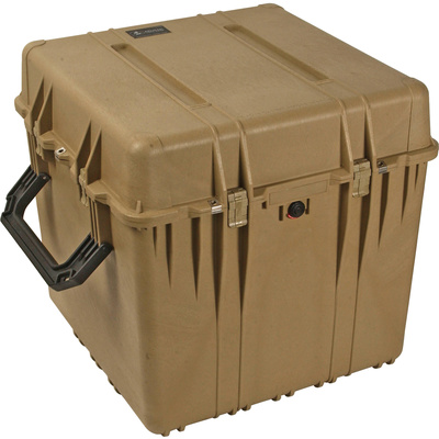 Pelican 0370 Cube Case without Foam (Desert Tan)