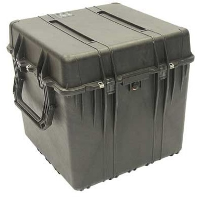 Pelican 0370 Cube Case with Padded Dividers (Black)