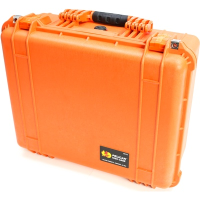 Pelican 1550 Case without Foam (Orange)