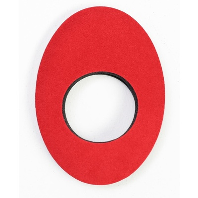 Bluestar Large Oval Eyecushion - Microfibre (Red)