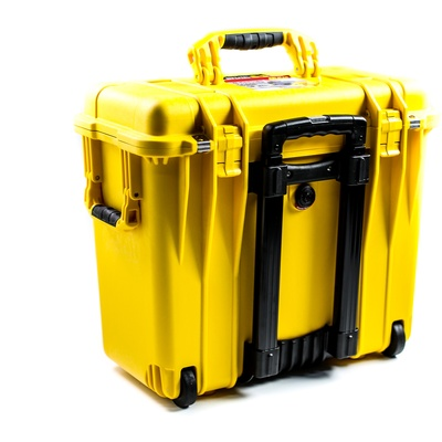 Pelican 1440 Top Loader Case without Foam (Yellow)
