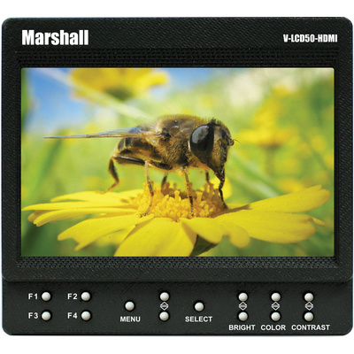"Marshall Electronics V-LCD50-HDI 5"" On-Camera Monitor"