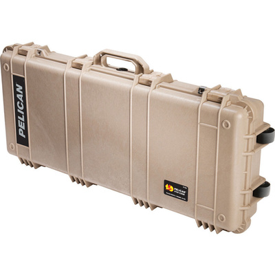 Pelican 1700 Long Case without Foam (Desert Tan)