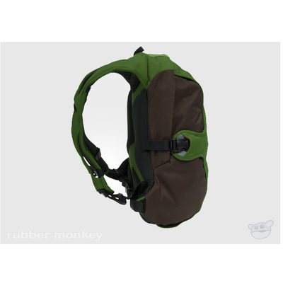 Crumpler The King Single - Lime and Olive Brown