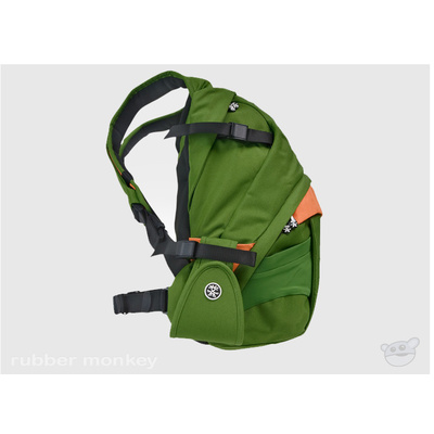 Crumpler The Customary Barge Deluxe - Olive and Orange