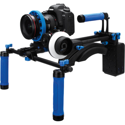 Redrock DSLR Field Cinema DELUXE Bundle - microFollowFocus Blue