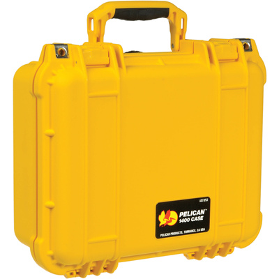 Pelican 1400 Case (Yellow)
