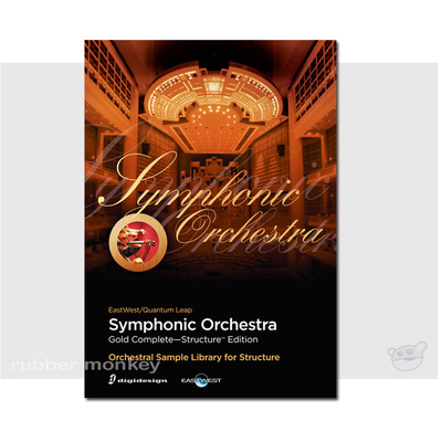 Avid EastWest Symphonic Orchestra - Gold Complete Structure Edition