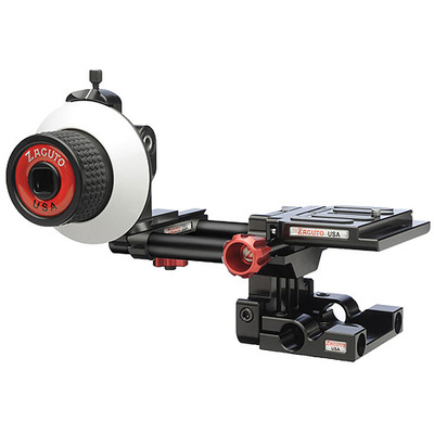 Zacuto Single Action Baseplate and Follow Focus for DSLR