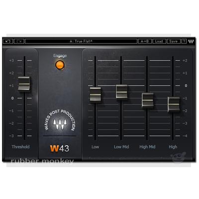Waves W43 Noise Reduction Plugin TDM