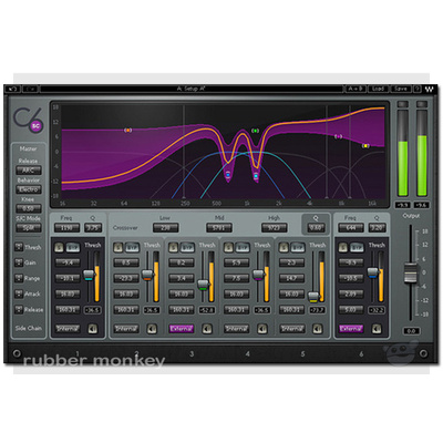 Waves C6 Multiband Compressor TDM