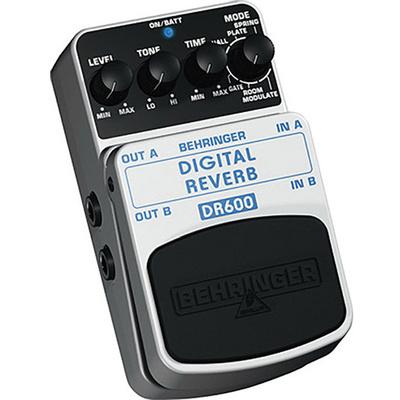 Behringer DR600 Digital Reverb Pedal