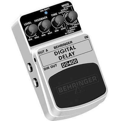 Behringer Digital Delay DD400 Effects Pedal
