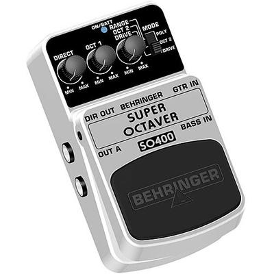 Behringer Super Octaver SO400 Effects Pedal
