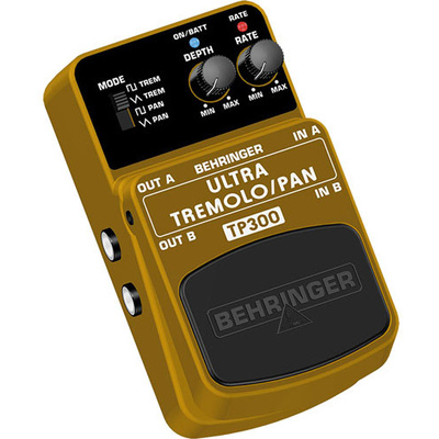 Behringer Ultra Tremolo-Pan Effects Pedal