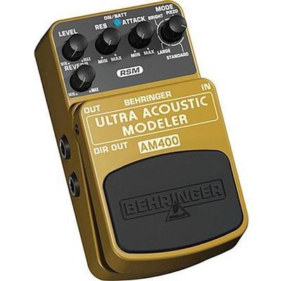 Behringer Ultra Acoustic Modeler Effects Pedal