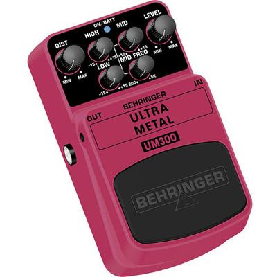 Behringer Ultra Metal UM300 Effects Pedal