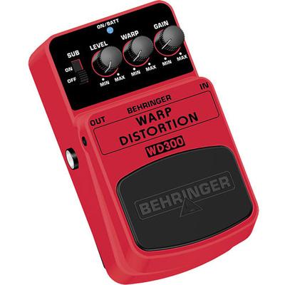 Behringer Warp Distortion WD300 Effects Pedal
