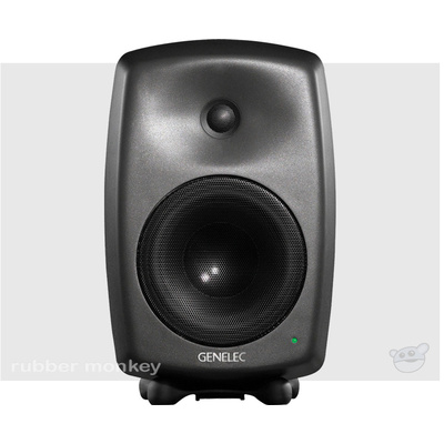 Genelec 8050 Two-Way Active Nearfield Monitor - Mystic Black