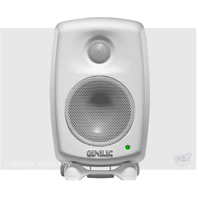 Genelec 6010A Two-Way Active Nearfield Monitor - White