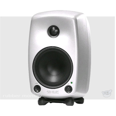 Genelec 6010A Two-Way Active Nearfield Monitor - Silver