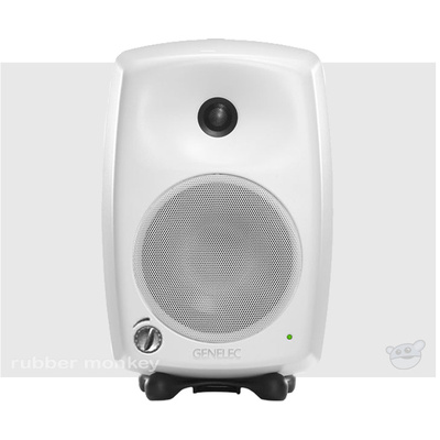 Genelec 8020B Compact Two-Way Active Nearfield Monitor - White