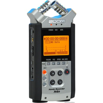 Zoom H4n Recorder with 2Gb SD card