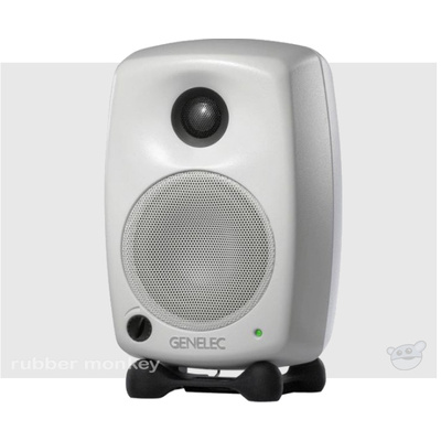 Genelec 6020A Compact Two-Way Active Loudspeaker - White