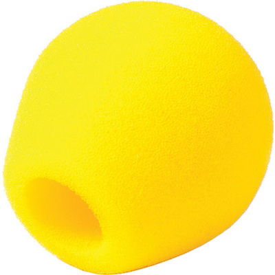 Rycote 104418 - Small Diaphragm Mic Foam (Yellow)