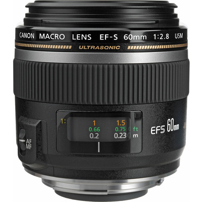 Canon EFS 60mm f2.8 Macro USM Digital Lens
