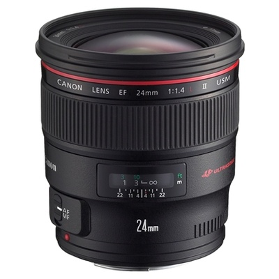 Canon EF 24mm f1.4L II USM Wide Angle Lens