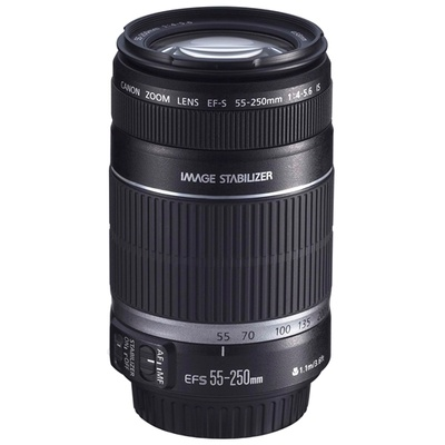 Canon EFS 55-250mm f4-5.6 IS Lens
