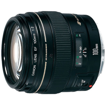Canon EF 100mm f2.0 USM Autofocus Lens