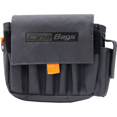 Cinebags AC Pouch (Grey and Orange)