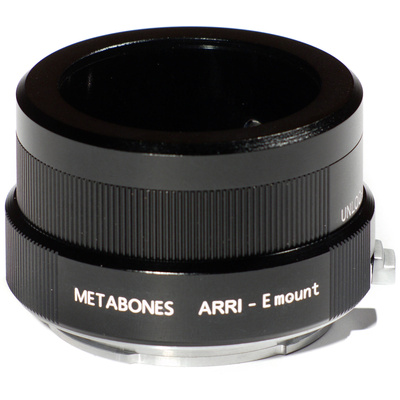 Metabones Arriflex Mount Lens to Sony NEX Camera Lens Mount Adapter (Black)