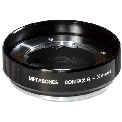 Metabones Contax G Mount Lens to Fujifilm X-Mount Camera Lens Mount Adapter (Black Matte)