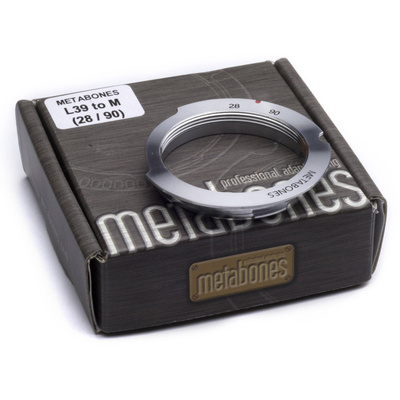 Metabones L39 Mount 28-90mm Lens to Leica M Camera 6-Bit Lens Mount Adapter